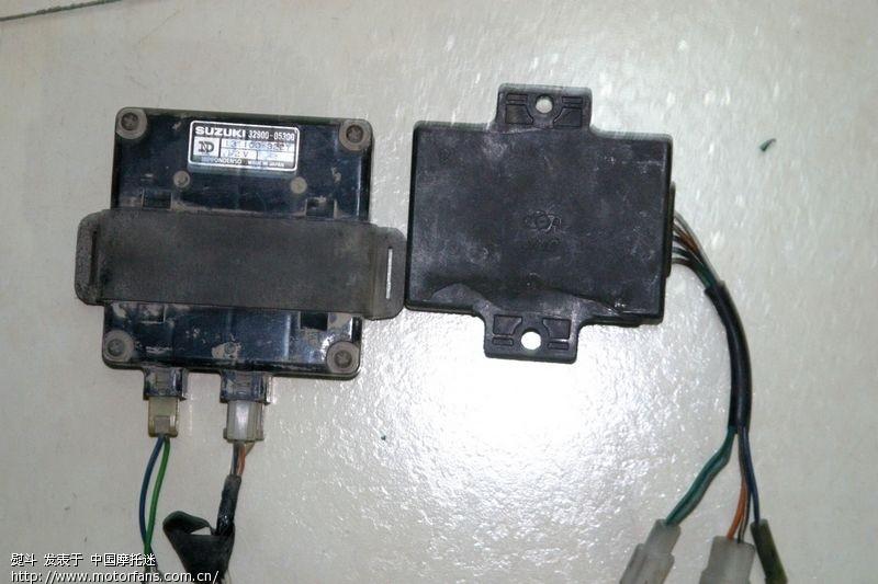 求助:小日本产的gs125老点火器的接线问题(已能点火