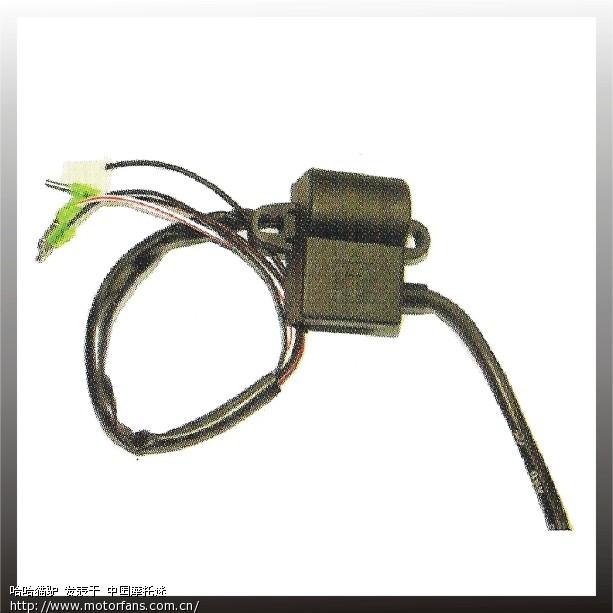 用xh90的一体高压包点火器改装gy6