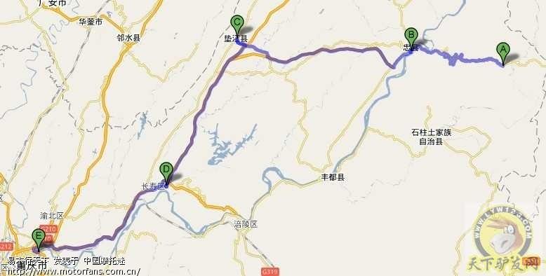 重庆石柱黄水镇地图