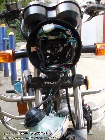 摩托车电门开关接线图