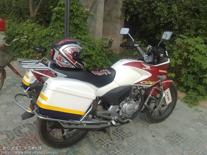 晒晒我的欧三战鹰 - 五羊本田-骑式车讨论专区 - 摩托