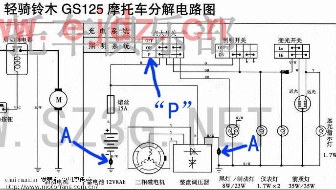 221,帮忙解决看懂电路图
