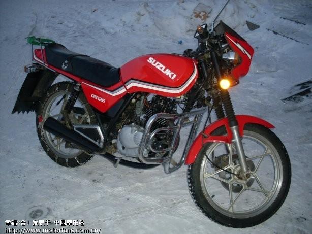 请教维修高手:铃木gs125摩托车后减震器故障