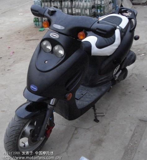 光阳摩托车点火器接线图