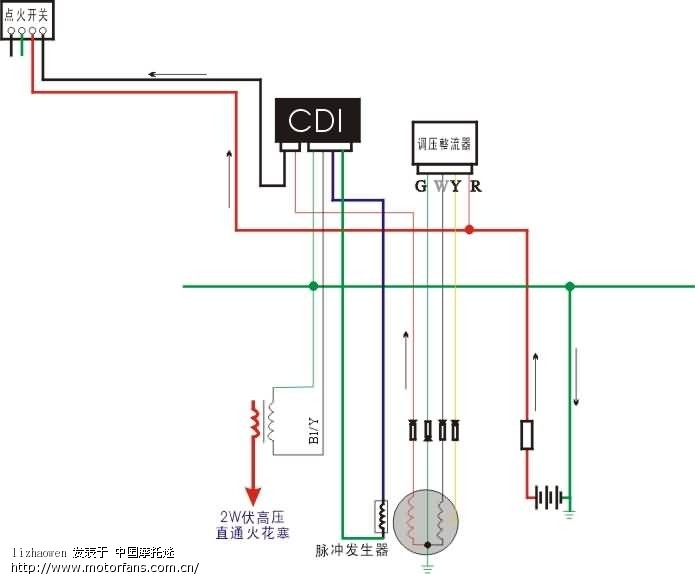 图3是分解的点火电路,点火开关有什么作用,我看不出它的作用哦.
