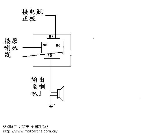 汽笛声音电路原理图