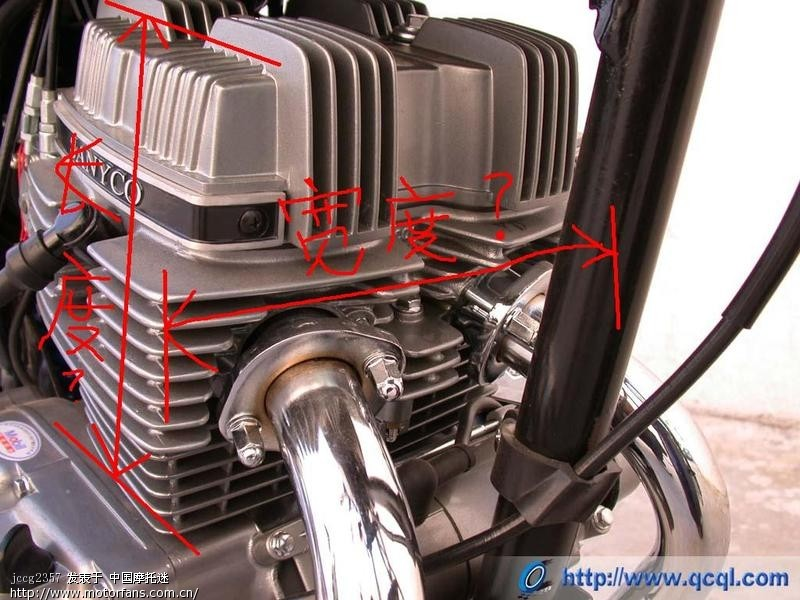 cb125t发动机尺寸