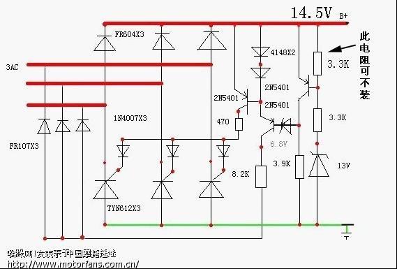 整流器的电路本来想搞一个开关整流器