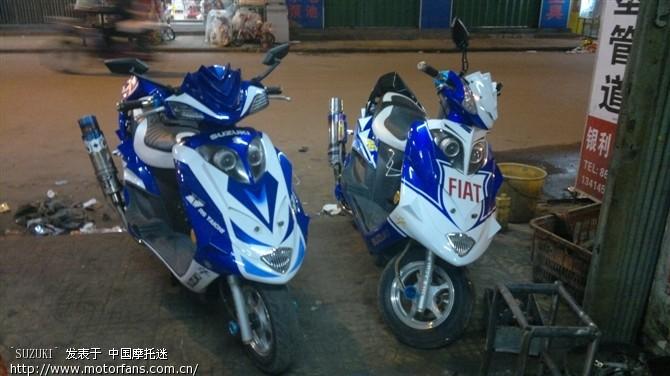 蓝巨星摩托车点火器接线图