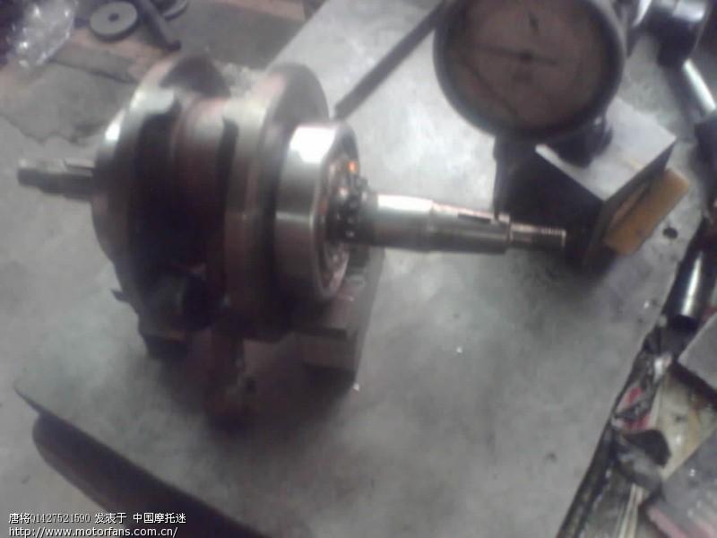 qs125和qs150曲轴分解结构图 - 维修改装 - 摩托车