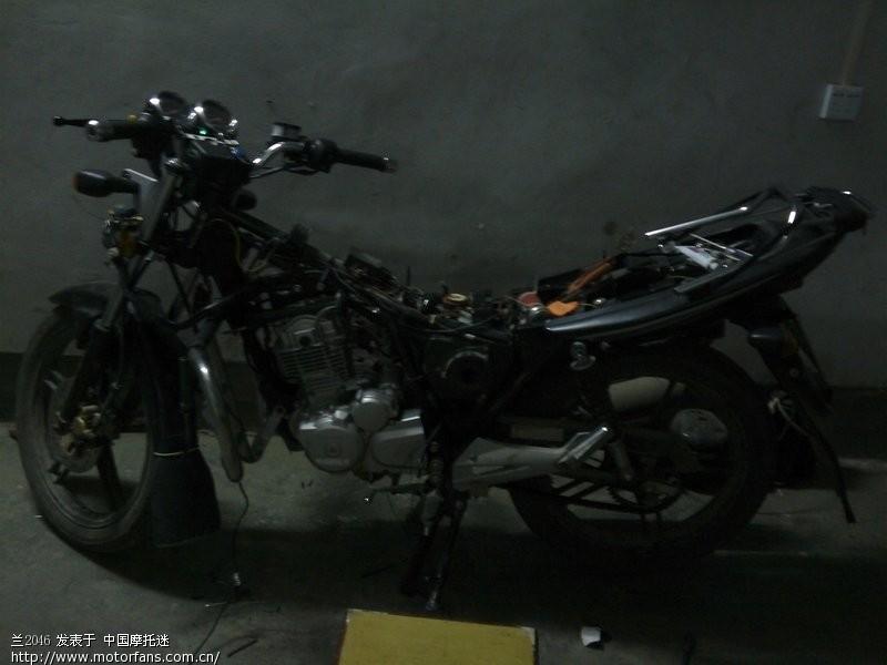 gsx125-3h改装! - 济南铃木-骑式车 - 摩托车论坛