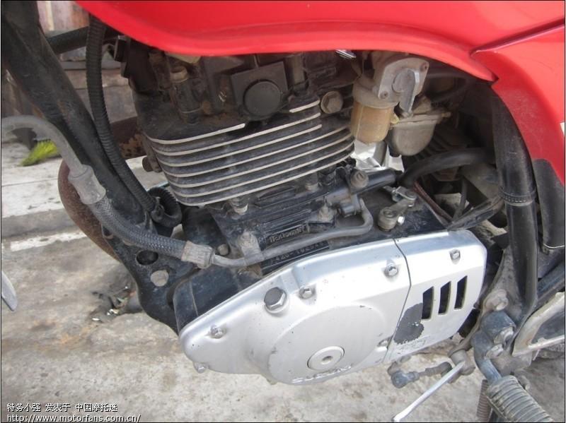 南益铃木编号f420发动机125cc改150cc