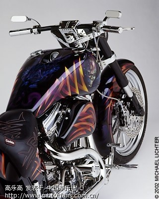 摩托车彩绘 - 吉林摩友交流区