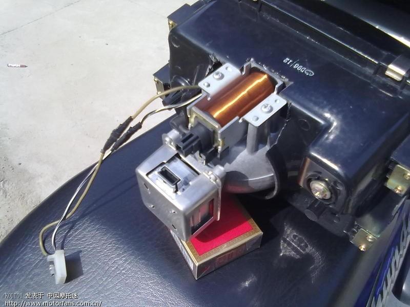 en125-2 改装小系双光透镜 - 维修改装 - 摩托车论坛