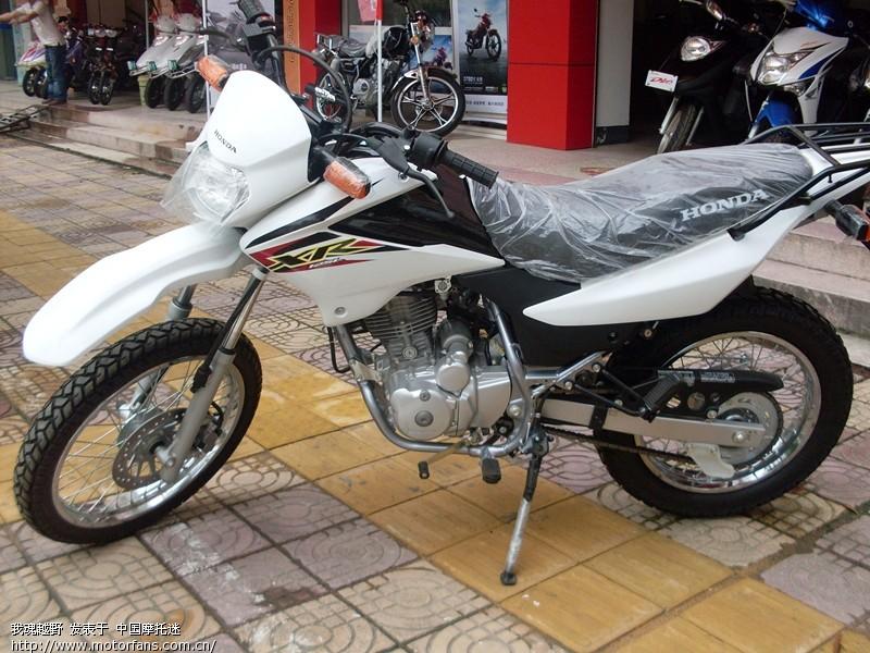 【求精】新大洲本田xr125越野摩托车!《已更新》