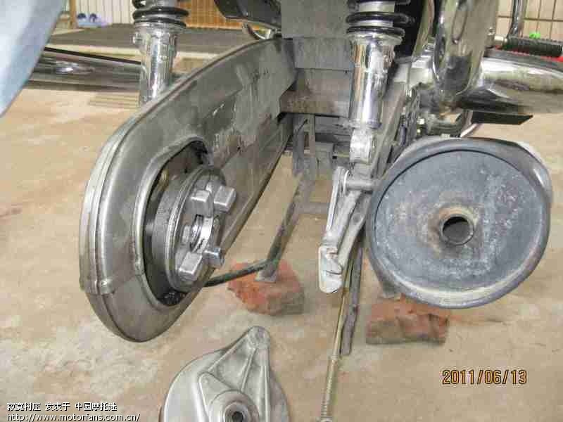 弯梁摩托车刹车灯接线图