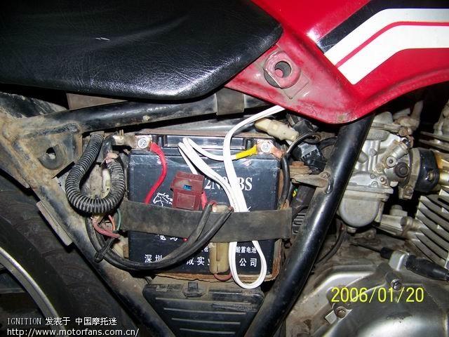 继电器摩托车大灯接线图