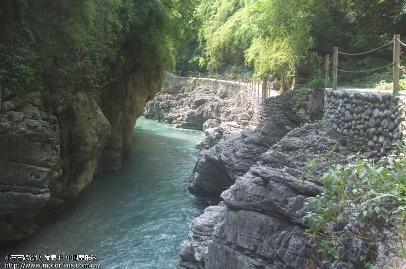 亲子摩游贵州水银河风景区,有惊无险的漂流