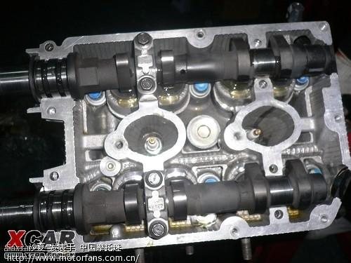 豪爵125发动机结构图说明图