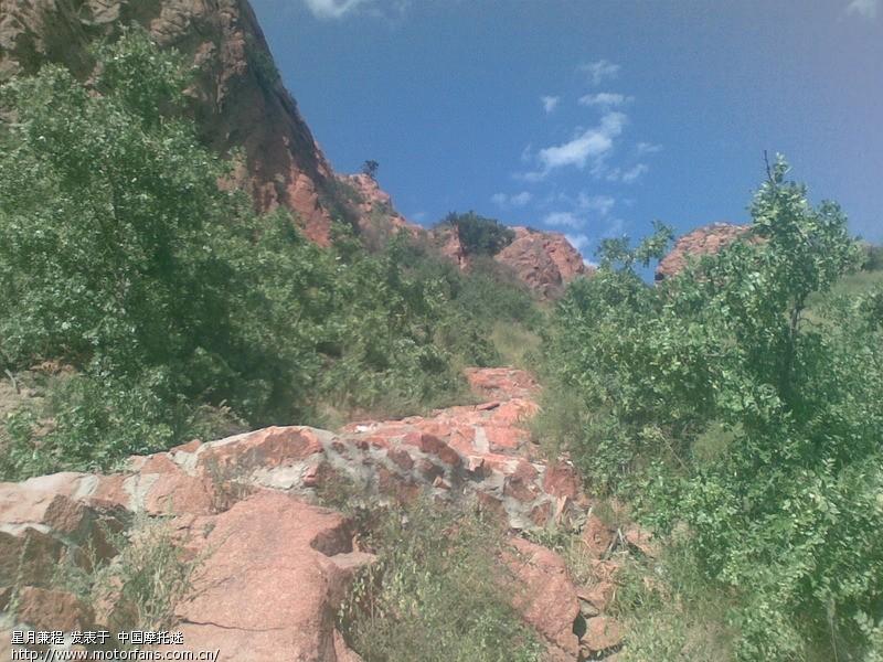 挺进内蒙赤峰红山国家森林公园---爬山越野能力风采不