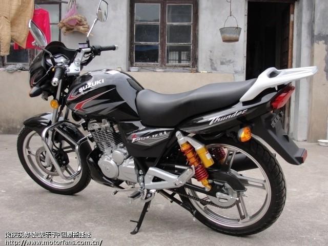 铃木锐爽en125-3e摩托车如何?