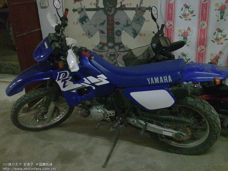 五羊本田幻影150和豪爵铃木锐爽en150摩托车.