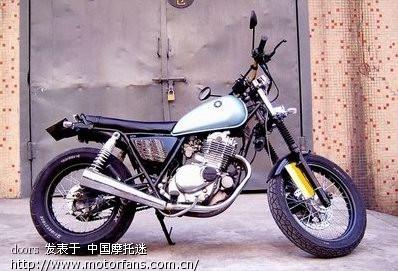 关于gn250改装 - 维修改装 - 摩托车论坛 - 中国摩托