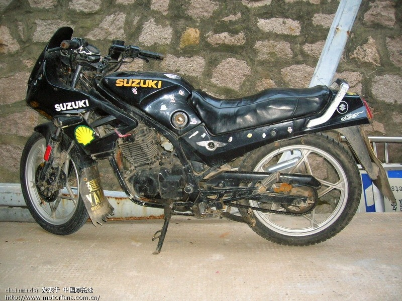 哪里有gs125r或者gs150r的电路图 - 济南铃木-骑式车
