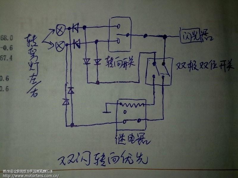 双闪电路pcb封装图