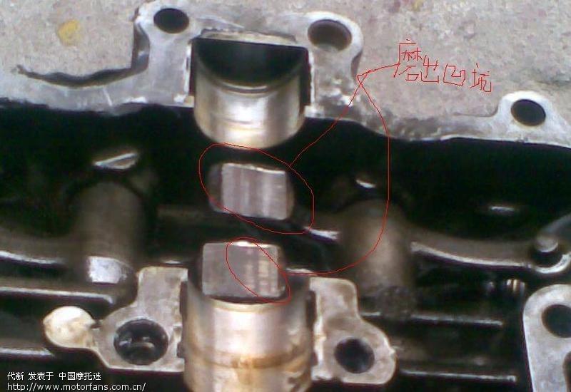 gs125铃木王缸头异响故障排除