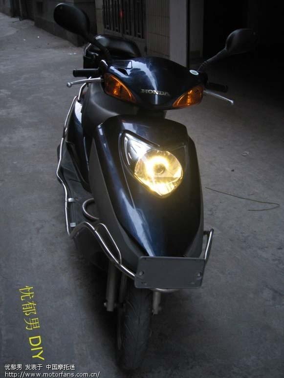 本田100c 摩托车 改装全金属摩托车透镜