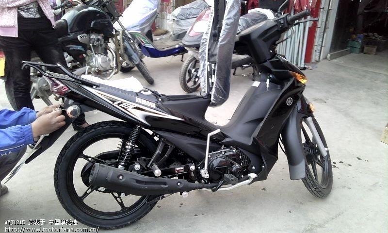 雅马哈i8弯梁摩托车最近几天加大油门也跑不太快么劲是不是缺机