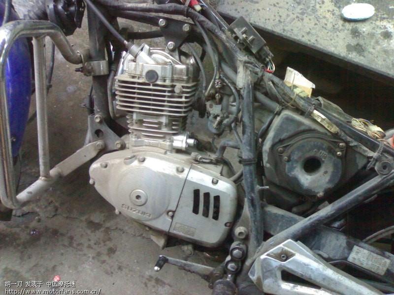 69 摩托车论坛 69 维修改装 69 钻豹改电装磁钢和2981的点火器