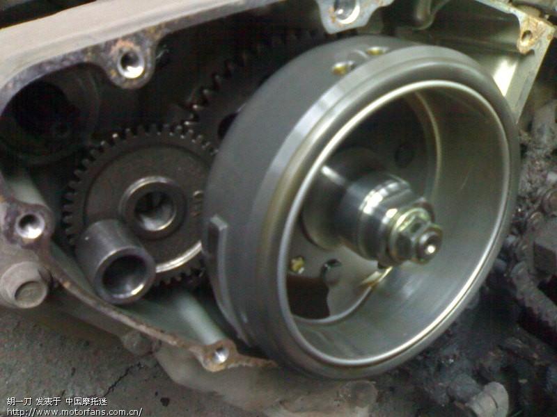 69 摩托车论坛 69 维修改装 69 钻豹改电装磁钢和2981的点火器!