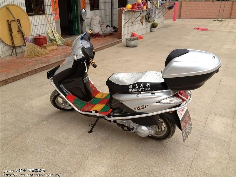 新入手dio - 新大洲本田-踏板车讨论专区 - 摩托车