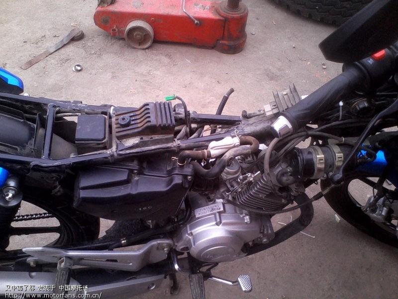 天剑k改装疝气大灯 - 雅马哈-骑式车讨论专区 - 摩托