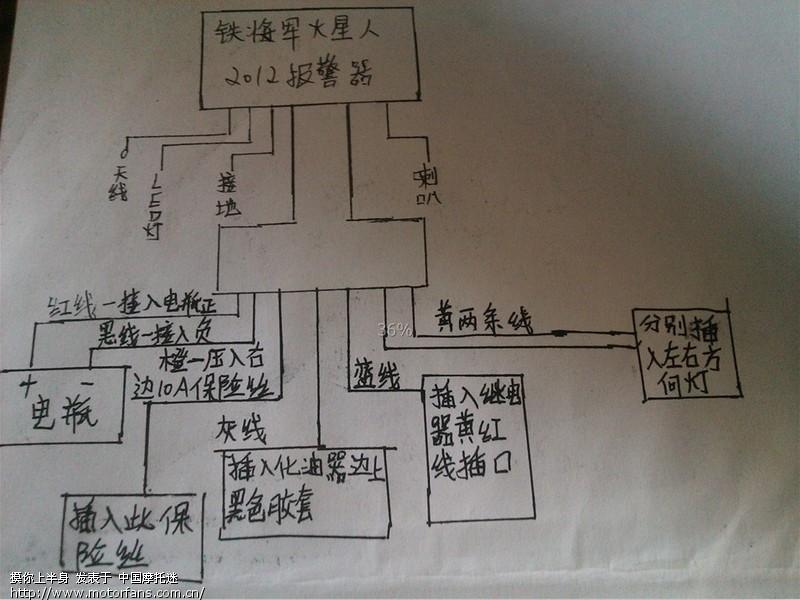 本田摩托车125电路图