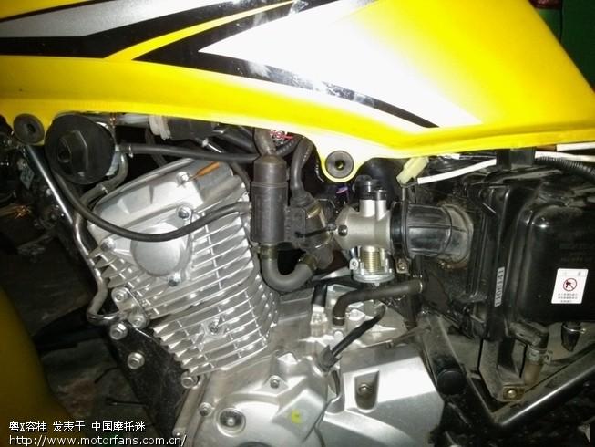 新大洲本田锋朗cb125改电喷系统