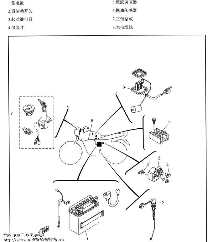 图解点火失效 - 维修改装 - 摩托车论坛 - 中国摩托