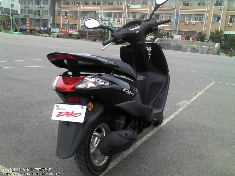 学生党入手dio - 新大洲本田-踏板车讨论专区 - 摩托