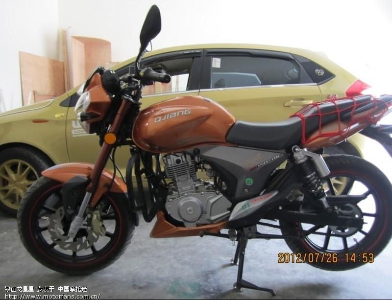 钱江龙19C和铃木钻豹125对比 钱江Benelli贝纳利 摩托车论坛 中国摩