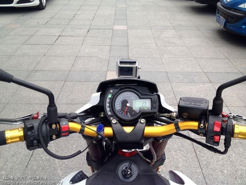黄龙600改装氙气头灯及加装大灯开关,安装gopro!