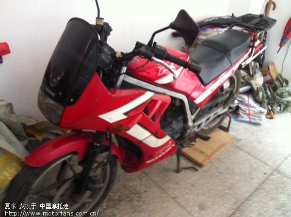 铃木王中王gs125r 求合适的外壳改装 - 维修改装 - 车