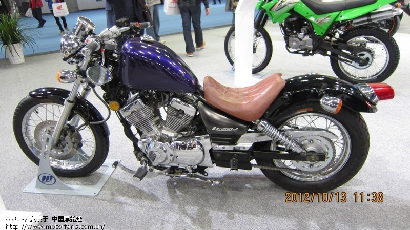 2012 重庆摩托车展全新lf250-p - 力帆-v16 - 摩托车