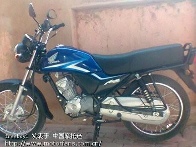 本田2011 cb125 款发动机 旧闻