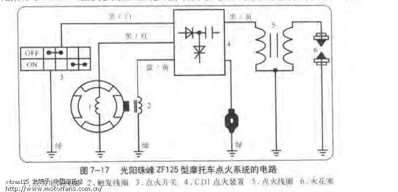 论坛 69 摩托车论坛 69 维修改装 69 求gy6发动机简易接线图