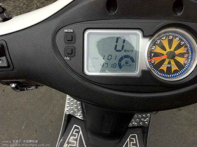 大家帮忙看看GP110 光阳摩托kymco 将摩旅进行到底图片