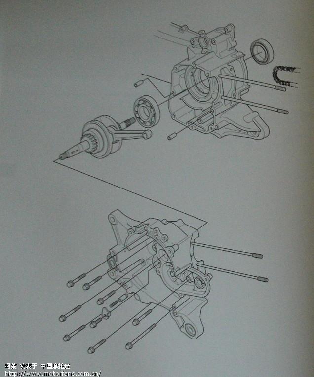 踏板车4线磁电机接线图