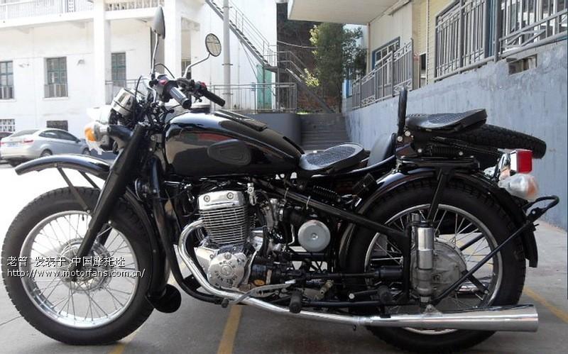 长江750边三轮摩托车原型就是bmw