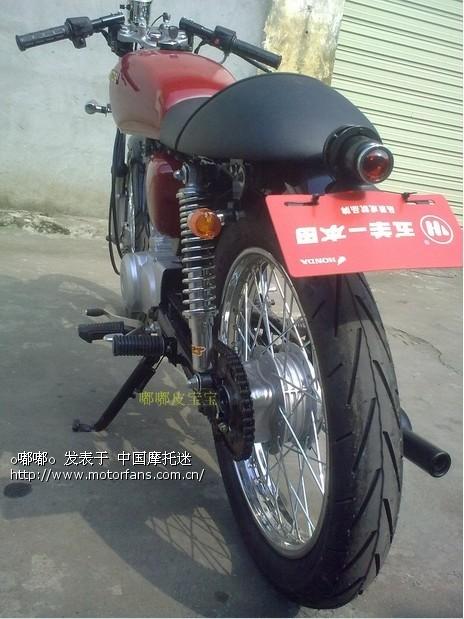 草根咖啡-cg125 - 维修改装 - 摩托车论坛 - 中国摩托
